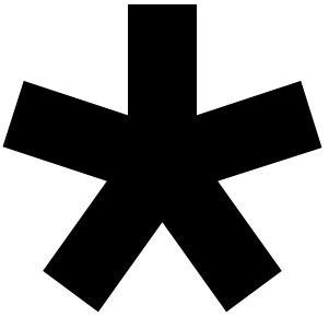 Diaspora*, Logo, Asterisk,